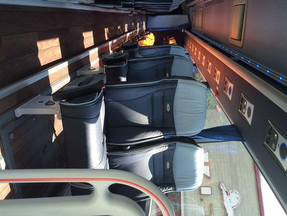Van Hool Astron Tx17 interni